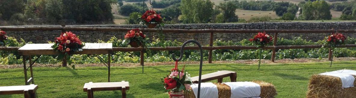 Flores para bodas en Espacios verdes